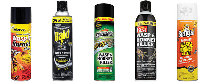 Wasp Spray Cans