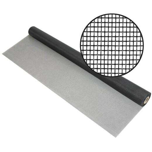 Phifer 36 In. x 100 Ft. Charcoal Fiberglass Pool Screen
