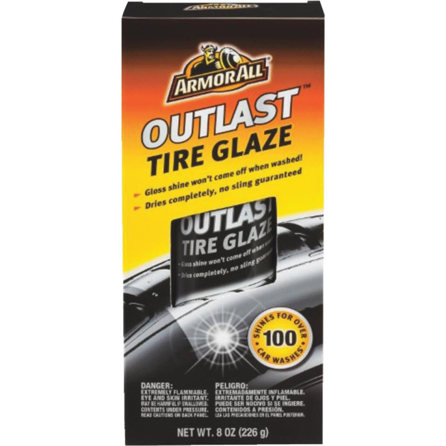 Armor All OUTLAST 8 Oz. Aerosol Spray Tire Shine Glaze Image 1