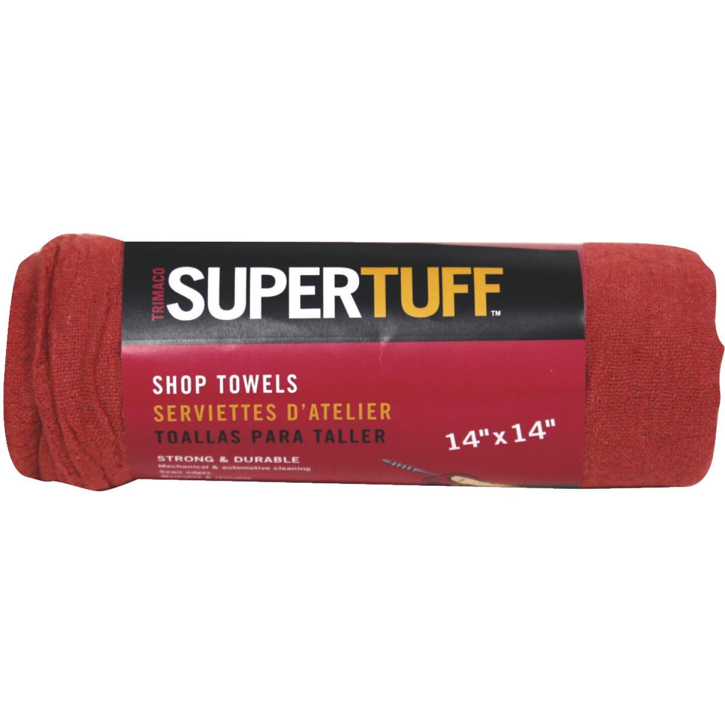 Trimaco SuperTuff 14 In. Square Washable Shop Towel (5-Pack) Image 1