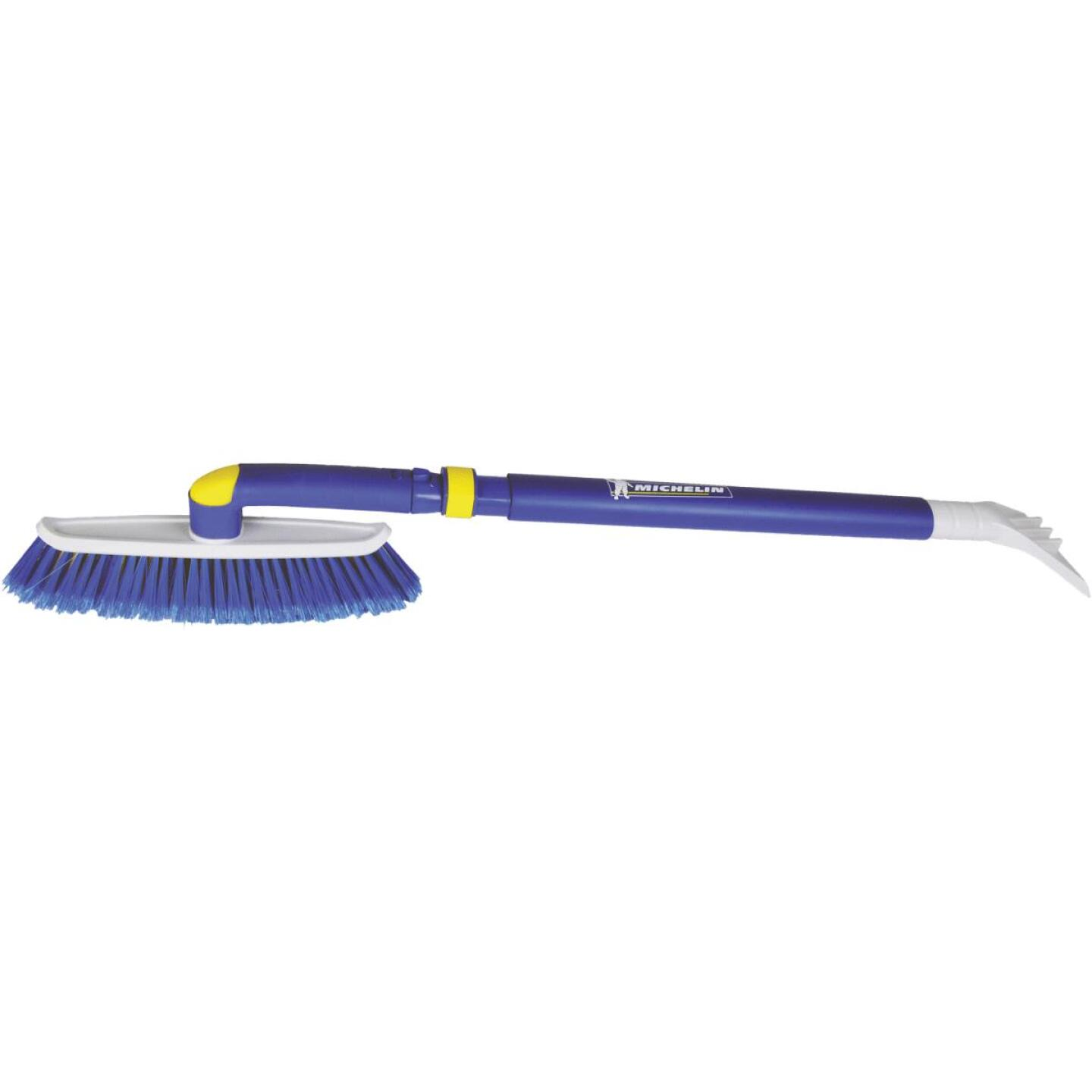 Michelin 48 In. Steel Extender Snowbrush with Ice Scraper Image 2