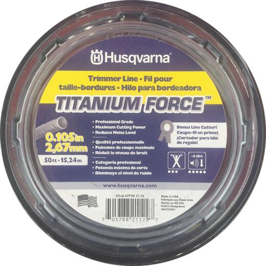 Husqvarna Titanium Force 0.105 In. x 50 Ft. Trimmer Line