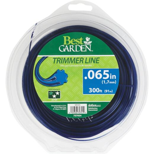 Best Garden 0.065 In. x 300 Ft. 7-Point Trimmer Line